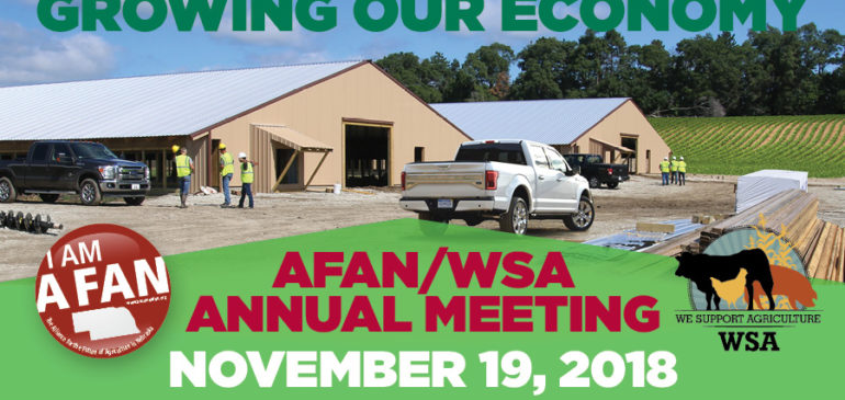 Join AFAN and WSA Annual Stakeholders Meeting Set for November 19